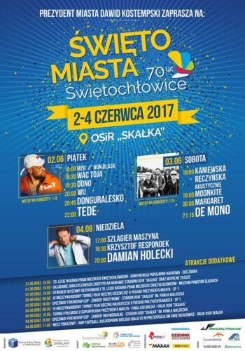 Rap Festiwal podczas Święta Miasta Świętochłowice już jutro!